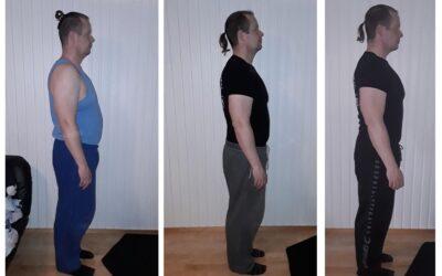 Asiakastapaus Jyri: 10kg pudotus 3 kuukaudessa